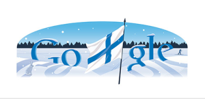 Google Finland's Independence Day Tribute